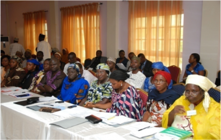Cross section of stakeholders at the workshop